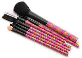 foolzy br 12g professional cosmetic makeup brushes kit 7 no s