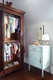 pull down closet rod back wall mount diy heavy duty