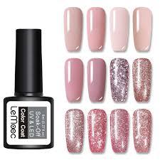 <b>LEMOOC 8ml</b> Glitter Gel Polish 29 <b>Colors</b> Soak Off LED UV Gel ...