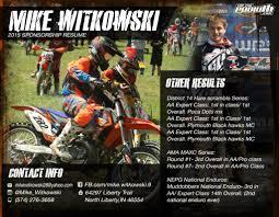 2015 Mike Witkowski Sponsorship Topthepodium Com