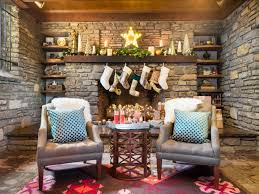 3 Festive Holiday Fireplace Mantels  How To DecorateChristmas Fireplace Mantel