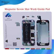 Iphone Screw Chart Us 3 99 Magnetic Screw Mat For Iphone 6 7 7 Plus Work Guide Pad Professional Plate Tools For Iphone 5s 6s 6 Plus Repair Chart Templates In Phone