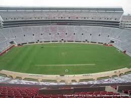 Alabama Football Stadium Seat Chart Bryant Denny Stadium View From Section U3 K Vivid Seats