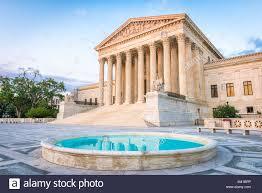 United States Supreme Court Gebäude in Washington DC, USA Stockfotografie -  Alamy
