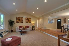 vaulted ceiling recessed lighting placement cathedral ceiling