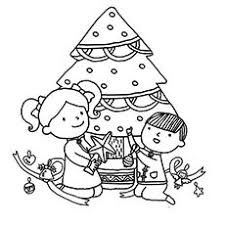 Top 35 Free Printable Christmas Tree Coloring Pages Online