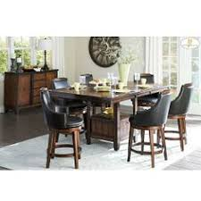 transitional aesthetic meets modern lines in the cally elegant elche dining set this set features fixed oak veneer rectangular table top with matching