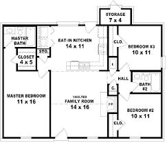 3 Bedroom House Plan 3 Bedroom House Plan Single Storey House Plans ...
