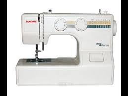 <b>Швейная машина Janome My</b> style 100. Обзор. Заправка шпульки ...