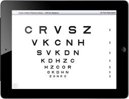Near Vision Reading Chart School Health Ipad Vision Screening App