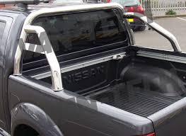 Nissan Navara D40 Sports Roll Bar Stainless Steel