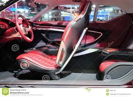 Di Design Thailand Bkk Nov 28 Interior Design Of Mg Icon Suv Concept Car