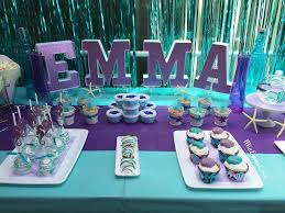 Mermaid/Under the Sea theme party decor. (turquoise/teal and purple color  scheme) Send me a private message for details and/or pricing.