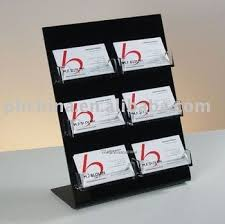 Business Card Display Stands Cool Jnc32 Desktop Acrylic Business Card Display StandBusiness Card