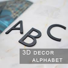 3d block letter wall decoration wall