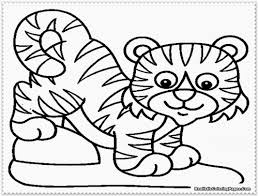 Brilliant Baby Cheetah Coloring Pages Concerning Minimalist ...