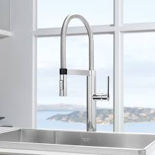 Modern Kitchen Sink Faucets Culina Semi Pro Kitchen Faucet 44133 By Blanco Yliving Kitchen