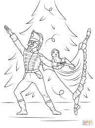 Nutcracker Ballet Coloring Page Free Printable