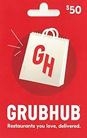 Amazon.com: Grubhub Gift Card $50: Gift Cards