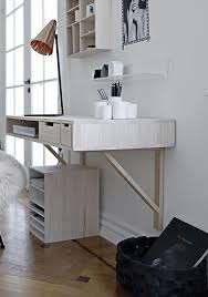 5 of the best wall mounted desks to maximise space at home bo and fou