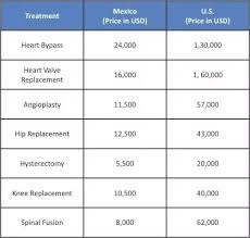 Medical Tourism Cost Comparison Chart What Countries Are Better Known For Their Medical Tourism