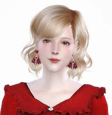 Emma at Vicky SweetBunny » Sims 4 Updates