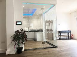 westbase technology ltd caldicot monmouthshire frameless glass corner room with glass