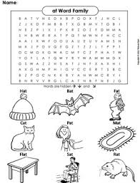 Word Family Coloring Pages At Word Family Word Search Coloring Sheet Phonics Worksheet