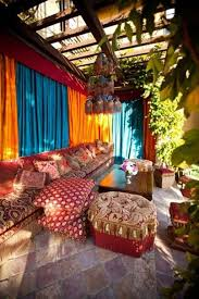 Colorful Moroccan Outdoor Spaces