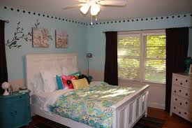 bedroom for girls:  light blue bedroom for girls amazing