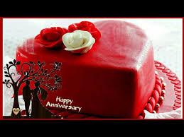 Happy Anniversary Cake Images Whatsapp Status Wedding Anniversary