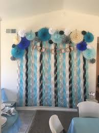 Turquoise Baby Shower Decorations Summer Inspired Outdoor Baby Shower Decoration Ideas Boys Baby