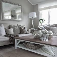 Silver And White Living Room Inspiration Fa 1 4 R Einrichtung Und Deko Im Skandinavischem Stil