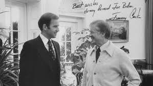 jimmy carter oval office. Democrats Then Senator Joe Biden And President Jimmy Carter In The Oval Office