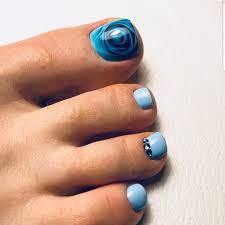 Turquoise Toe Nail Designs 90 Pretty And Simple Toe Nail Art Designs Pedicure Ideas 2020