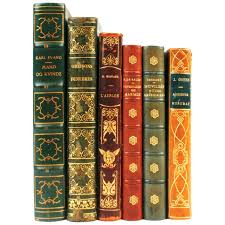 leather bound books for collection of in french and danish used classic harry potter wit