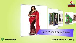 Gopi Saree Design Suit And Saree By Gopi Creation Surat