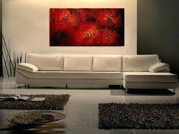 canvas wall paintings wall paintings for office large red abstract painting textured wall art original passionate canvas wall