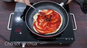 Cách làm pizza không cần lò nướng • Điện máy XANH - YouTube