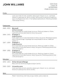 Online Resume Templates Free Free Online Resume Creator Free Easy