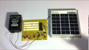 Solar Powered Automatic Lights Solar Street Lights With Auto Intensity Controller