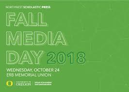 University Of Oregon Graphic Design Fall Media Day 2018 At The University Of Oregon