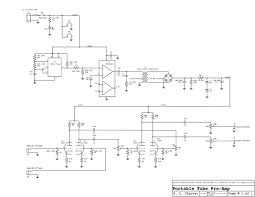keep those filaments lit design your own vacuum tube audio schematic of battery operated tube preamp