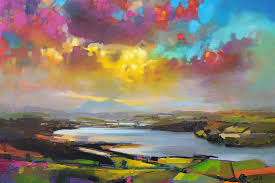 scott naismith struie hill dornoch image via fineartamerica com oil page color