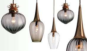 blown glass lamp shade pendant lights image of hand shades . blown glass  lamp ...