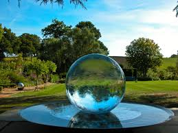 water ball fountain homey ideas 5 sphere fountains features for your garden ball water fountain r2
