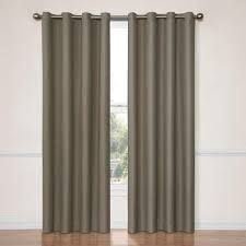 eclipse dane blackout smoke curtain panel 95 in length varies by size 12972052095smk the home depot
