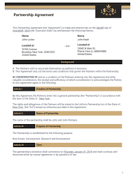 A partnership agreement is a necessary document you need to prioritize when starting a business partnership. Partnership Agreement Template Pdf Templates Jotform
