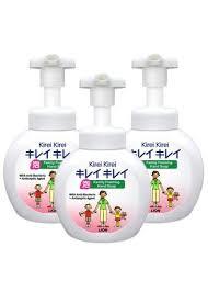 <b>Lion Kirei Kirei Family</b> Foaming Hand Soap 250 ml/ขวด 3 ขวด (สีขาว ...