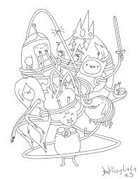 Small Picture Adventure Time Coloring BooksTimePrintable Coloring Pages Free